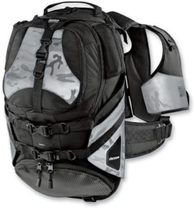 Icon Squad 2 Reflective Motorcycle Backpack Review