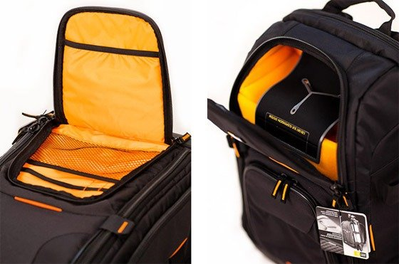 Case Logic Backpack Open