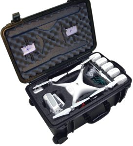 Case Club Waterproof DJI Phantom 4 Drone Case