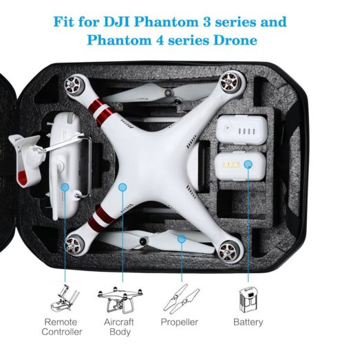 Powerextra DJI Phantom 4 Hardshell Waterproof Backpack