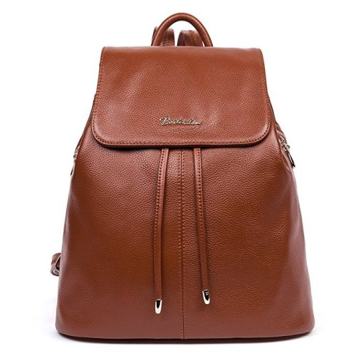 BOSTANTEN Women's Leather Backpack