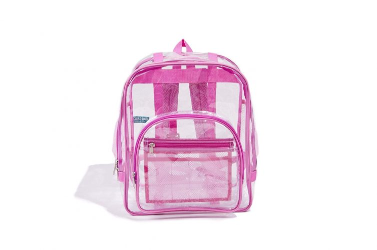 Industrial Grade Freeze Proof PVC Heavy Duty Clear Backpack