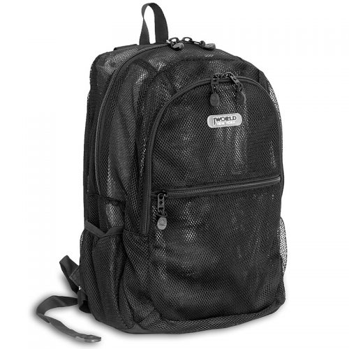 J World New York Mesh Backpack