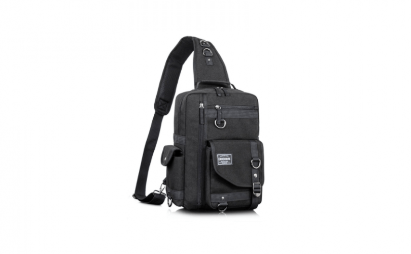 Leaper Cross Body Messenger Bag Shoulder Backpack