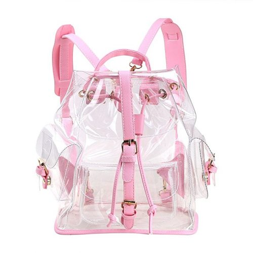 Zicac Summer Clear Drawstring Backpack