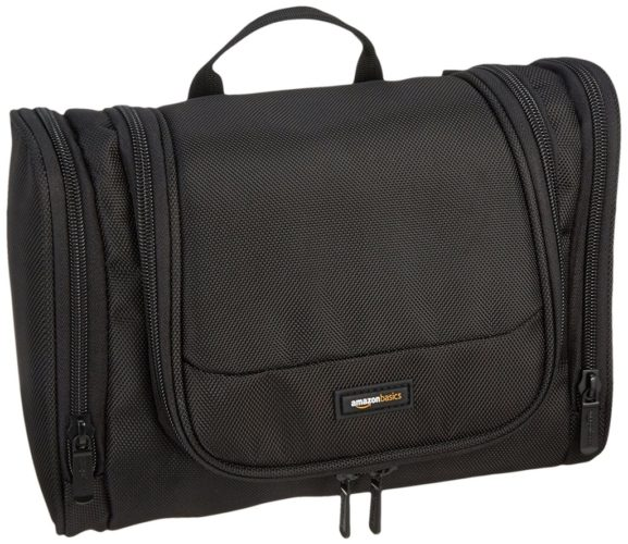 AmazonBasics Hanging Toiletry Bag