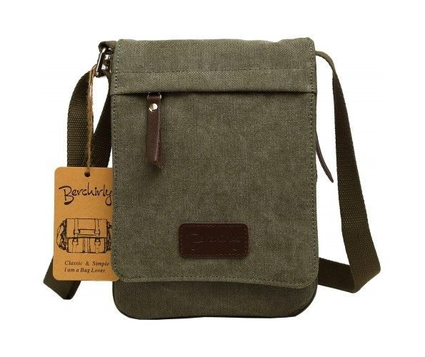 Canvas Messenger Bag Small