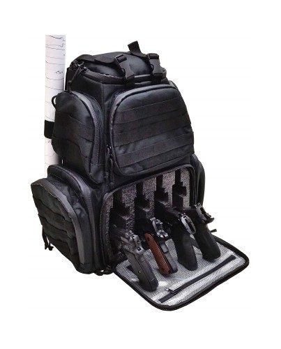 Case Club Tactical 4-Pistol Backpack