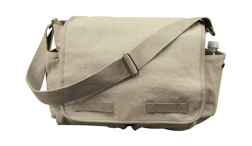 RothcoHw Canvas Classic Messenger Bag
