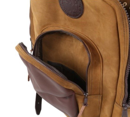 Duluth Pack Brushed Leather Deluxe Backpack