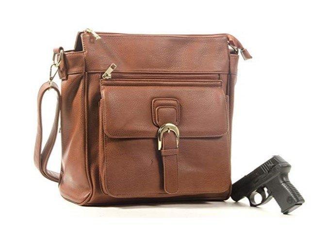 Goson Front Buckle Concealed Gun Handbag