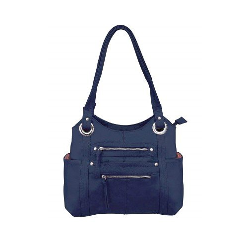 Roma Leathers Leather Locking Concealment Purse