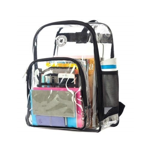 K-Cliffs Heavy Duty Clear Backpack