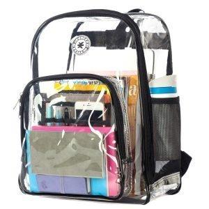 K-Cliffs Heavy Duty Clear Backpack