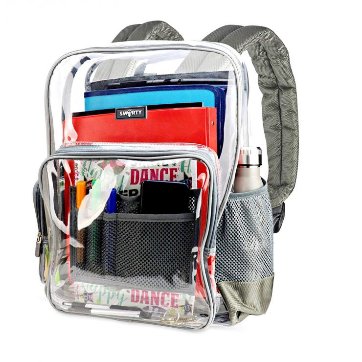 7979cc95204c Smarty Heavy Duty Clear Backpack Review - Best Backpack